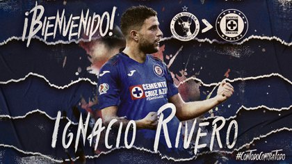 The Uruguayan midfielder arrives as reinforcement after his time at the Xolos de Tijuana, also in the Liga MX (Photo: Cruz Azul)
