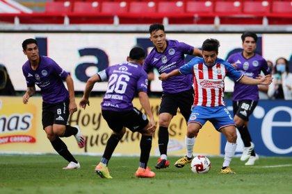 Guadalajara beat Mazatlán FC 3-1 and secured their pass to the semifinals (Photo: EFE / Francisco Guasco)