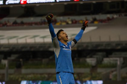 Alfredo Talavera says goodbye to Toluca and already thinks about his new club (Photo: Ilse Huescas / Cuartoscuro)