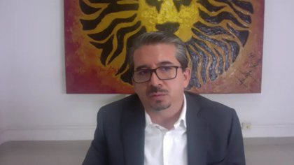 Alberto Castellanos, president of the Black Lions, spoke about the missing details in the Expansion League MX (Photo: Screenshot / Press conference)