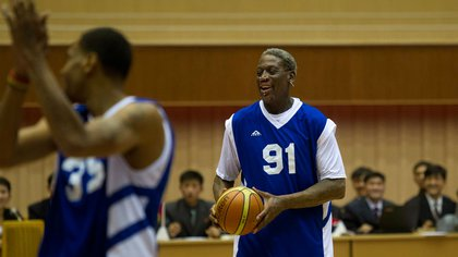 Rodman was one of the best defensive players of the time (AP)