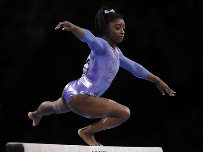Simone Biles talks about the sexual abuse of Dr. Larry Nassar (EFE)