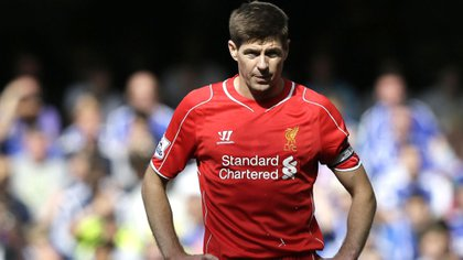 Steven Gerrard suffered a rare injury in his time as a player (AP)