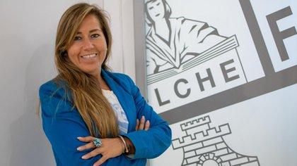 Patricia Rodríguez is the CEO of Elche (Elche)