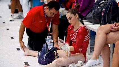 Larry Nassar was the physician of the American Olympic gymnastics team for two decades