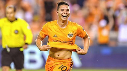 Tomás Martínez is one of the figures of the Houston Dynamo (@ tomiimartinez30)