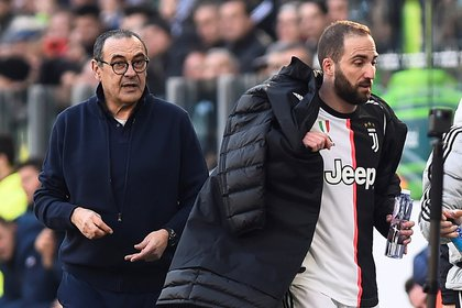 Higuaín is one of his fetishes: he directed it in Napoli, Chelsea and Juventus (REUTERS / Massimo Pinca)