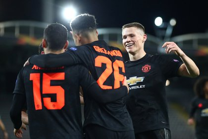 Manchester United is a favorite in the Europa League: it has one foot in the quarters (REUTERS / Lisi Niesner)