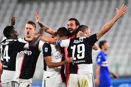Juve conquered their ninth consecutive Scudetto (REUTERS / Massimo Pinca)