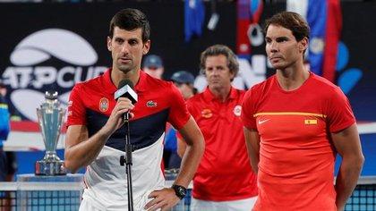 Djokovic and Nadal will present at the Cincinnati Masters, prior to the United States Open (REUTERS / Ciro De Luca)