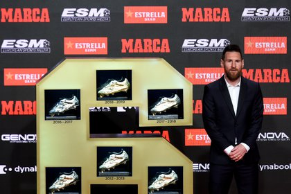 Lionel Messi was the winner of the last three Golden Boots (AFP)