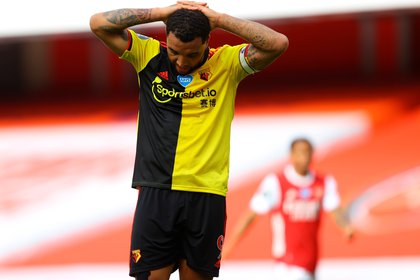 Watford went down after falling against Arsenal - EFE / EPA / Julian Finney / NMC
