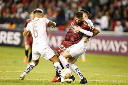 Liga de Quito is one of River's rivals in the Copa Libertadores (REUTERS / Daniel Tapia)