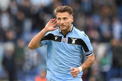 Ciro Immobile won the Golden Boot of the 2019/20 season (REUTERS)