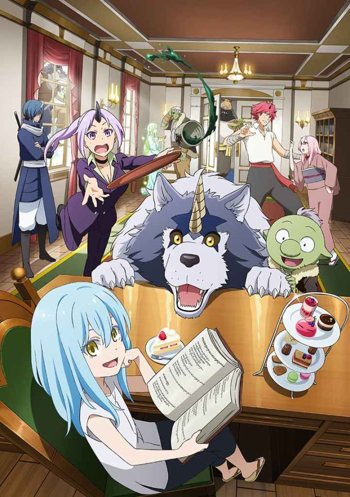 The Slime Diaries anime confirmed to premiere on April 6 - anime news - anime premieres - watch anime online - spring 2021 anime