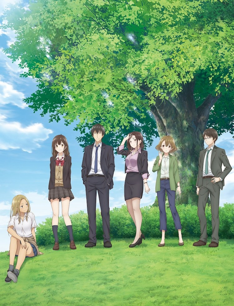 It is confirmed that the anime Hige or Soru.  Soshite Joshi Kosei or Hirou.  will premiere on April 5 - anime news - anines premieres 2021 - spring animes - see romantic comedy animes