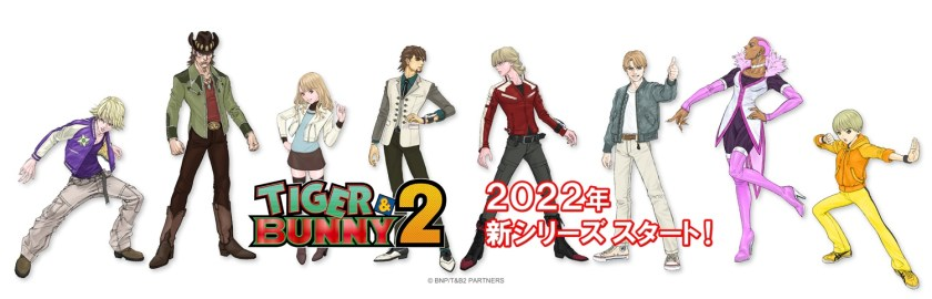 Cast Return Confirmed For Second Season Of Tiger & Bunny