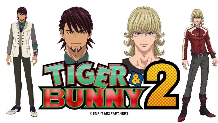 Promotional image presented for the second season of Tiger & Bunny - anime news - anime premieres 2022 - otaku