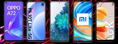 The best deals on cheap mobile installments with Movistar, Vodafone, Orange and Yoigo