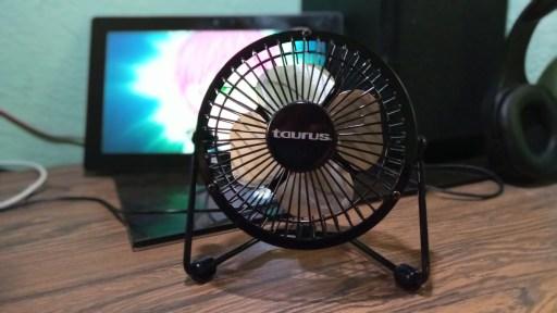 Taurus mini fan - Looking for comfort to watch anime on desktop - otaku review - anime gadgets 2021