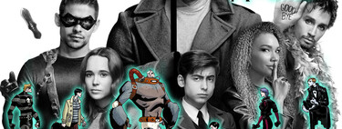'The Umbrella Academy', from the comic to the series: the differences between the success of Netflix and the original work