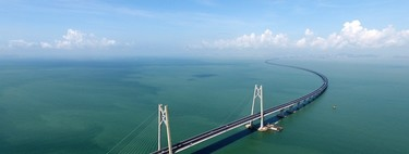 China shows the world the longest sea bridge in the world: 55 kilometers and steel to build 60 Eiffel towers