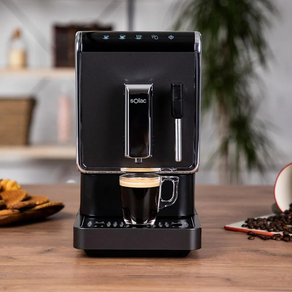 Solac automatic coffee machine