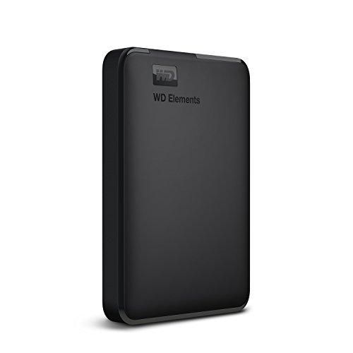 WD Elements - 1.5TB Portable External Hard Drive with USB 3.0, Black